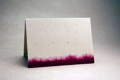 Lotka Dip Dyed Cards
