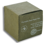 New Aspen Vegetable Dyed Seeded Favor Box