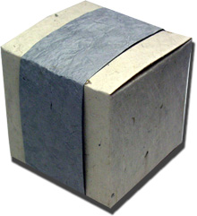 Lotka Seeded Favor Box - Slate
