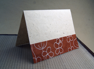 seed paper card