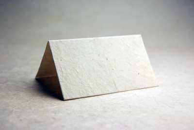 Lotka seed paper place card