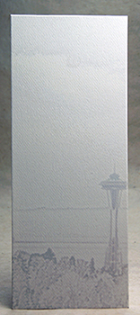 Space Needle, on felt