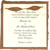 paperfree 6x6 invitation