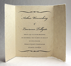 lotka bifold invitations