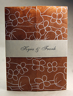poppy wrap invitation
