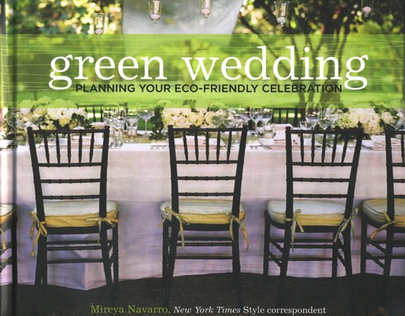 Green wedding planning guide book